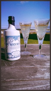 Rock Rose Gin serve