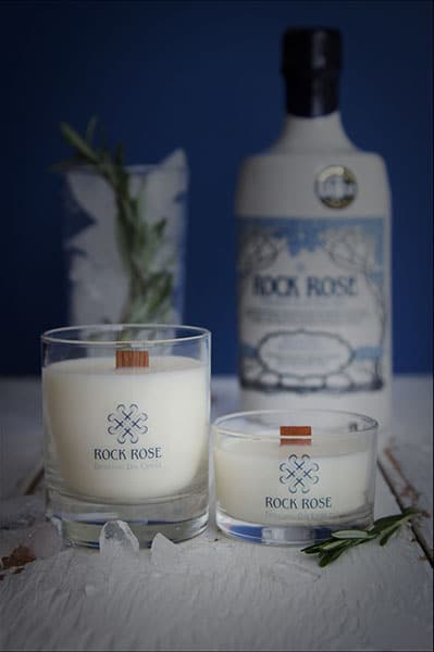 Rock Rose Gin Distilling Day Candle by Coast
