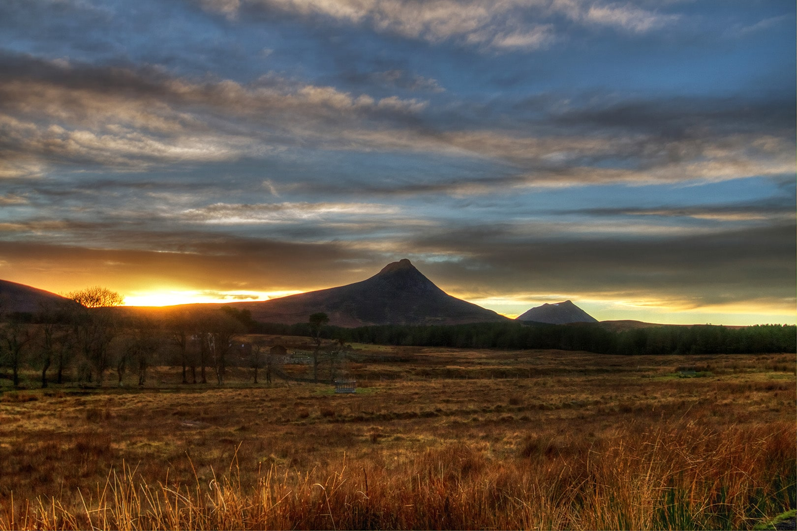 Maidens PaP at Sunset and Morven