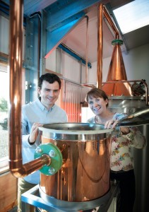 Martin and Claire with Elizabeth the Still