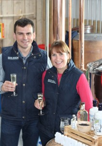Dunnet Bay Distillers Martin and Claire