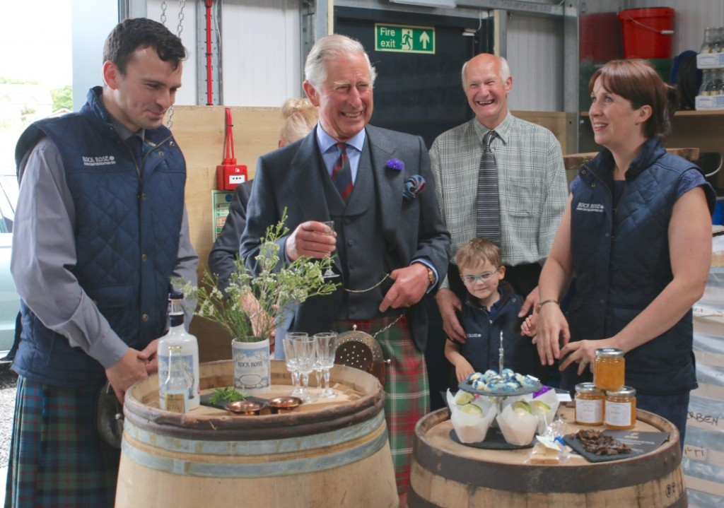 Dunnet Bay Distillers Prince Charles Duke of Rothesay