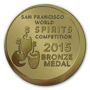 Rock Rose Gin San Francisco Worlds Spirit Competition 2015