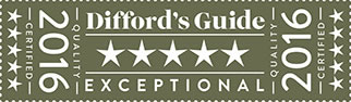 Diffords Guide 5* Award