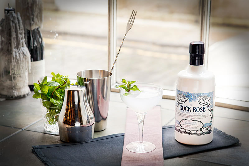 Southwinds - Rock Rose Gin Cocktail