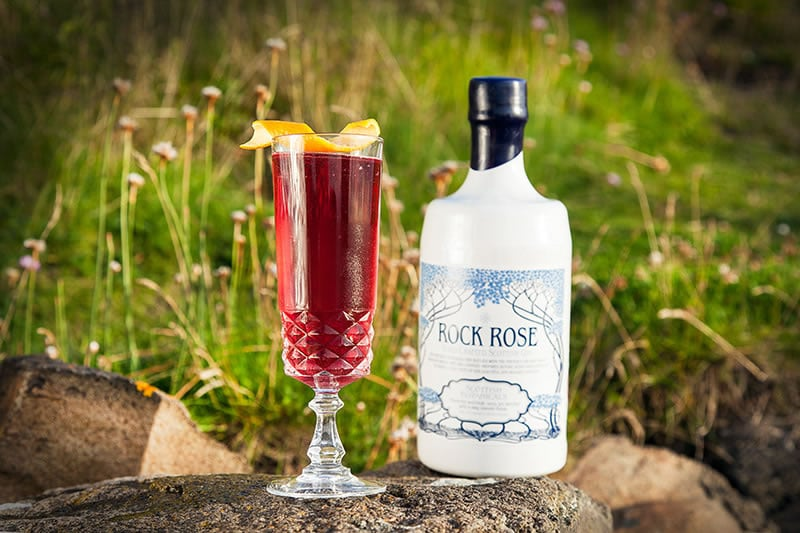 VinChill Factor - Rock Rose Gin Cocktail