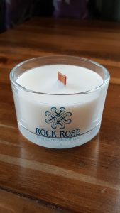 Rock Rose GIn Distilling Day Candle