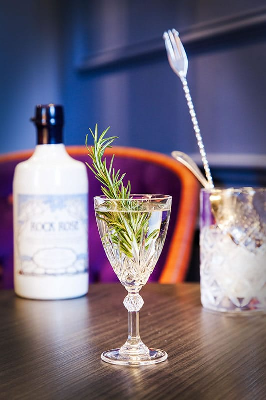 Rock Rose Martini - Rock Rose Gin Cocktail