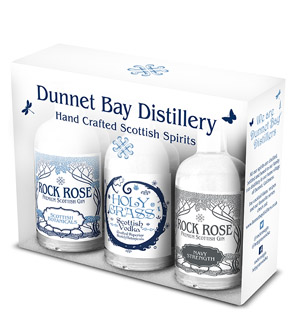 Dunnet Bay Distillers Triple Gift Pack
