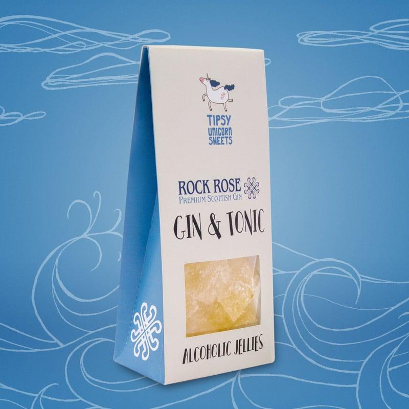 Gin n Tonic Jellies by Tipsy Unicorn