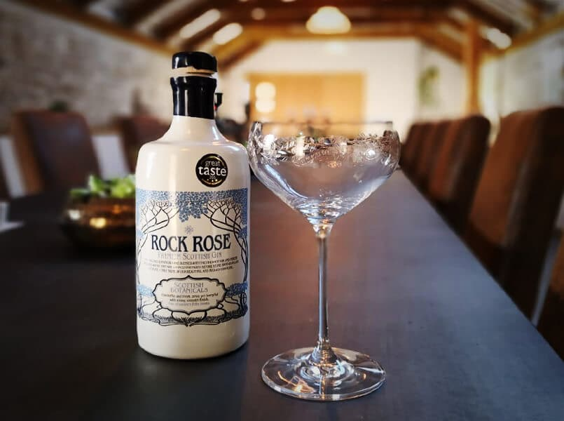 Rock Rose Gin Coupe Glass