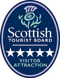 Scottish Tourist Board - 5 Star Visitor Attraction Logo -