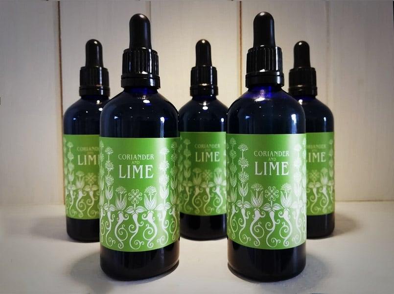 Corrainder & Lime Liquid Garnish