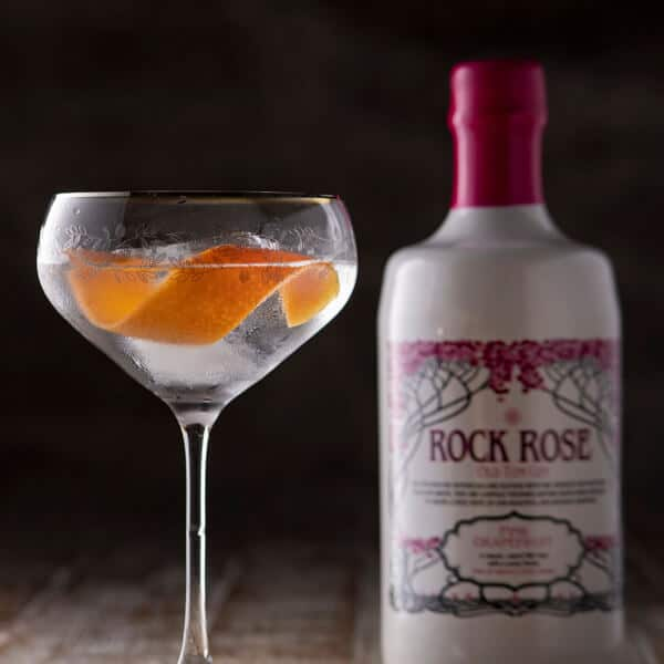 Pink Grapefruit Old Tom Gin - Perfect Serve
