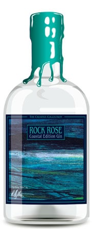 Rock Rose Coastal Edition Gin - Artists Collection