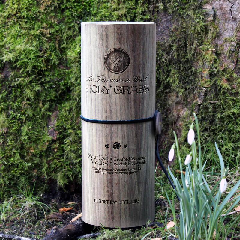 Holy Grass Vodka – Bourbon Cask Edition