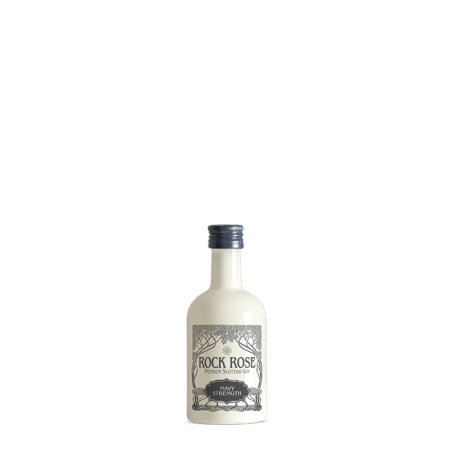 Navy Strength Rock Rose Gin Miniature