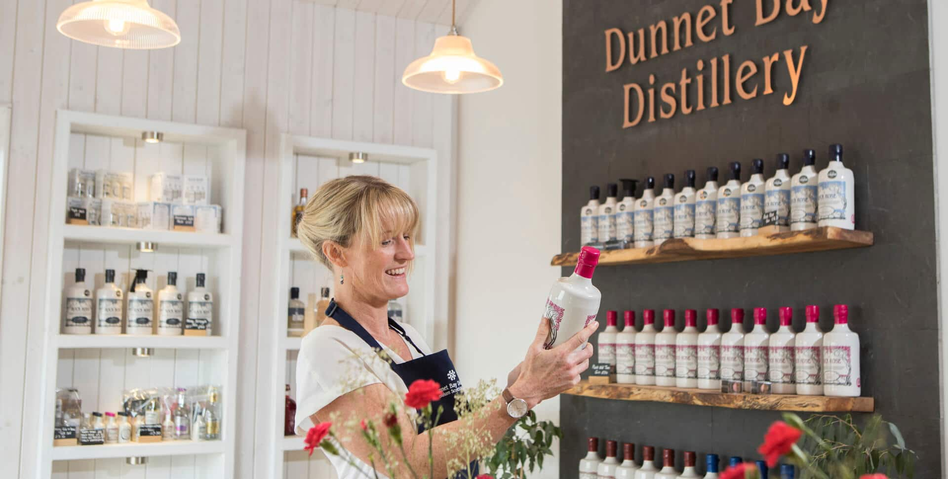 Libby Dunnet Bay Distillery Shop