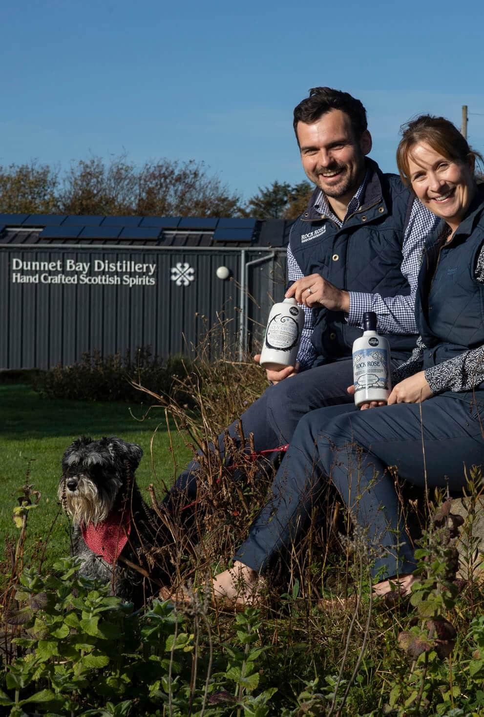 Claire & Martin Murray – Dunnet Bay Distillers