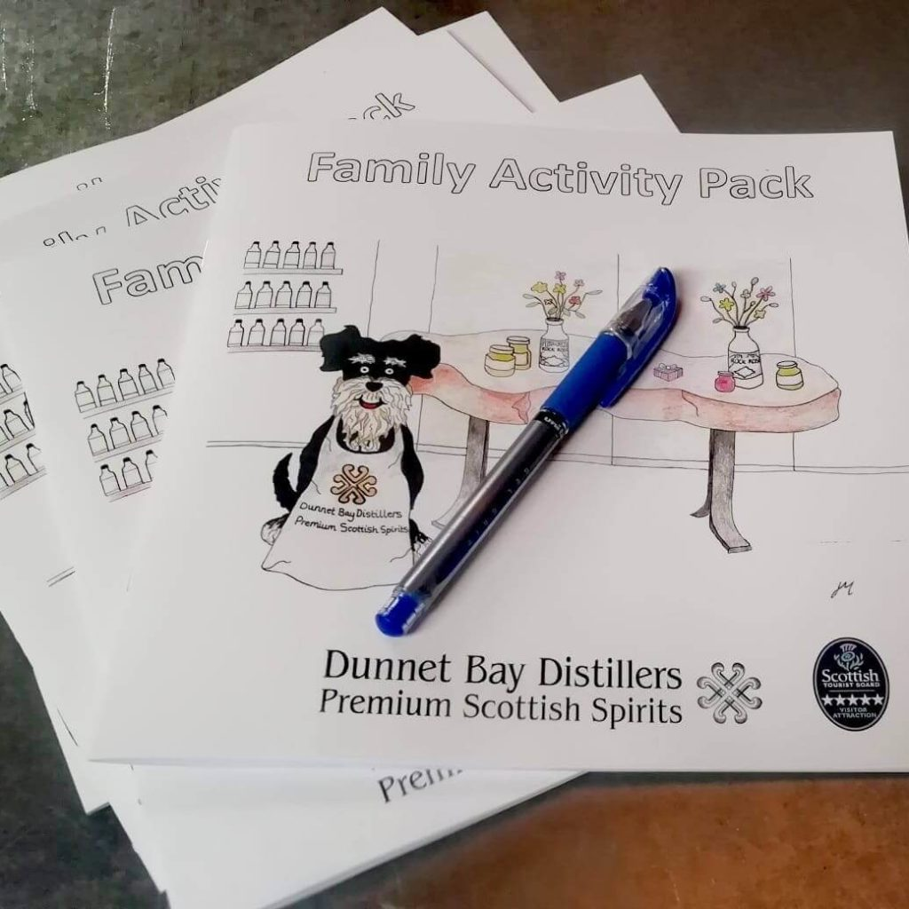Dunnet Bay Distillery - Kids Activity Pack