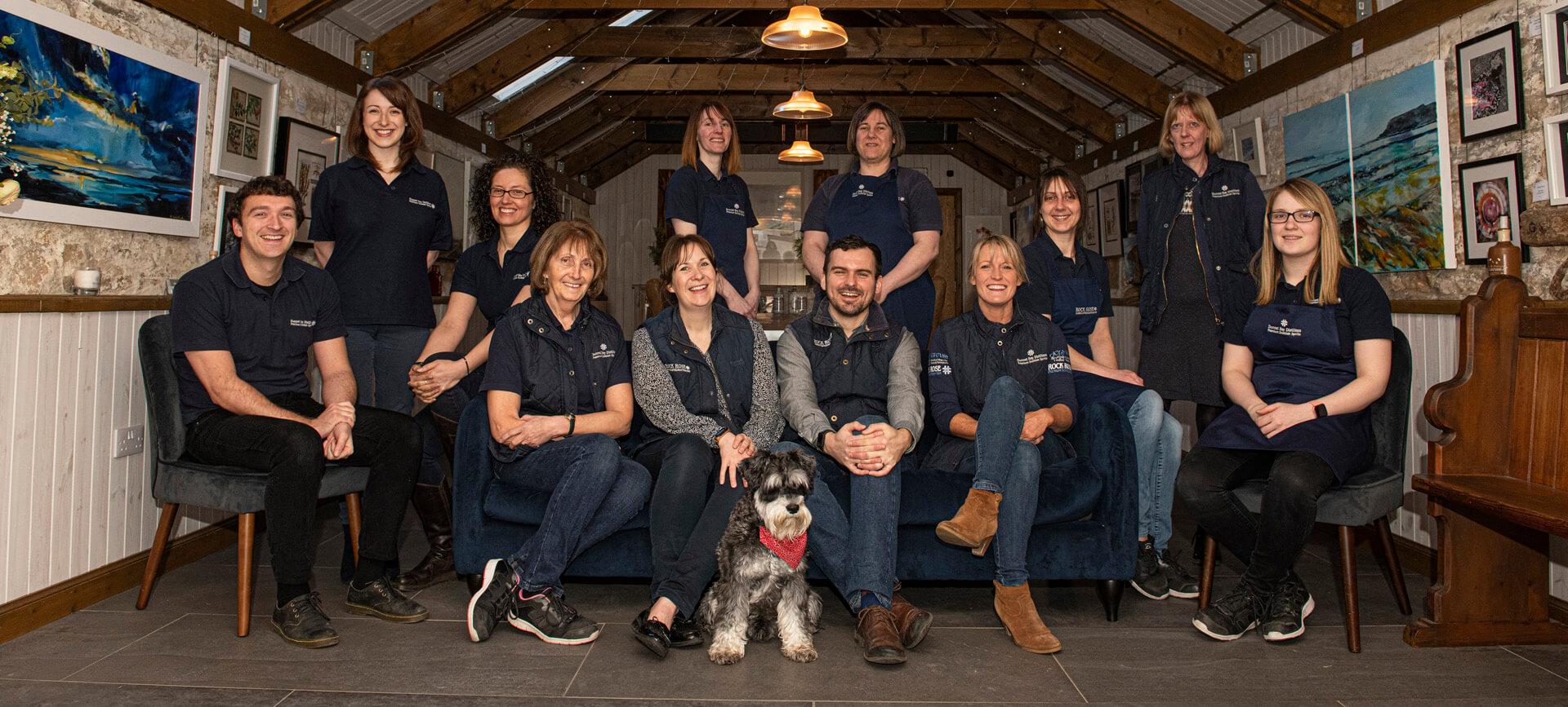 Dunnet Bay Distillery Team - Tasting Room