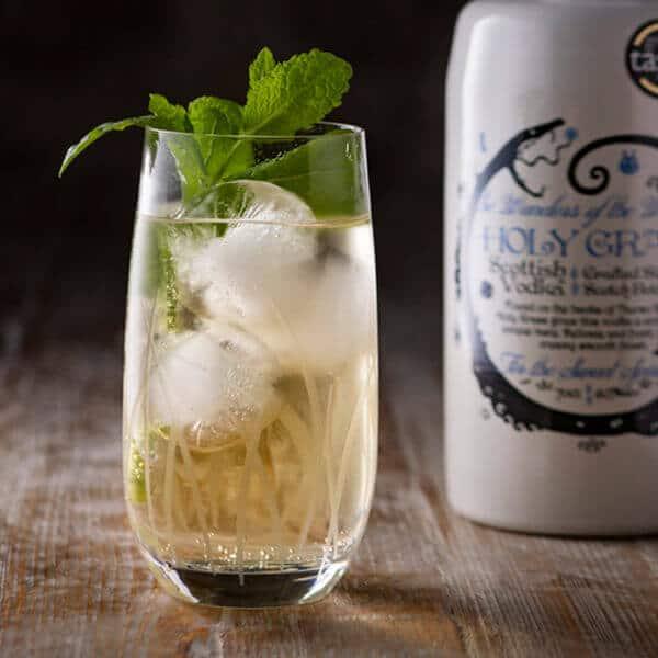 Holy Grass Vodka Perfect Serve