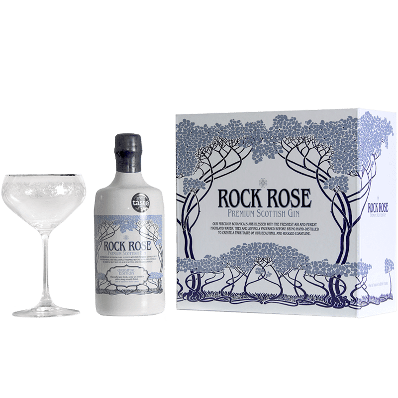 Rock Rose Gin Gift Set Contents