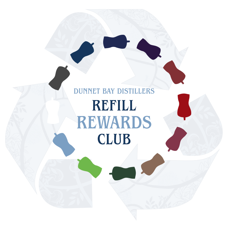 Dunnet Bay Distillers Refill Rewards Club
