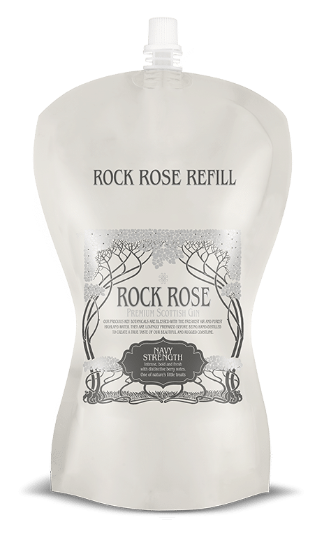 Rock Rose Gin Navy Strength Pouch