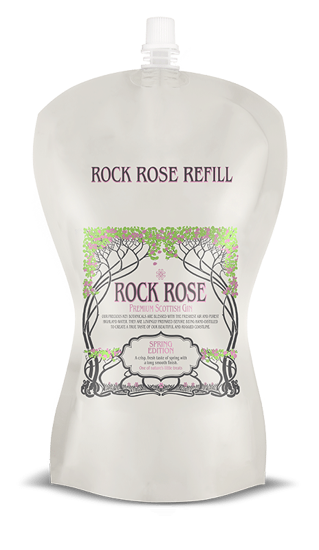 Rock Rose Gin Spring Edition Refill Pouch