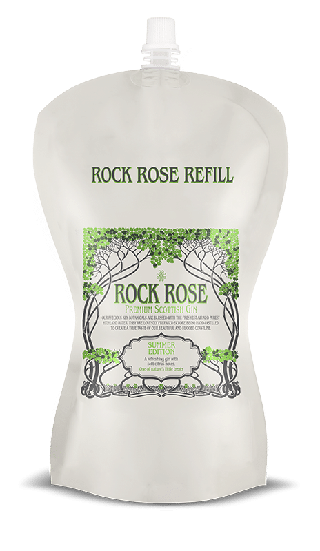 Rock Rose Gin Summer Edition Refill Pouch