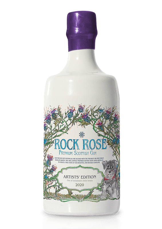 Rock Rose Gin Artists Edition 2020